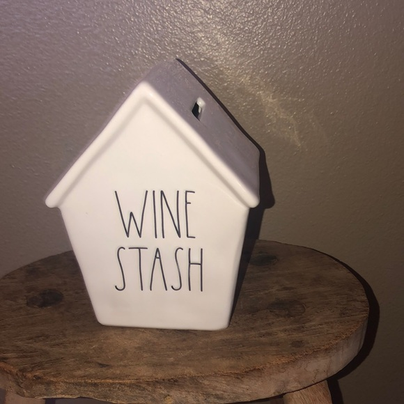 Rae Dunn Other - Rae Dunn Wine Stash bank